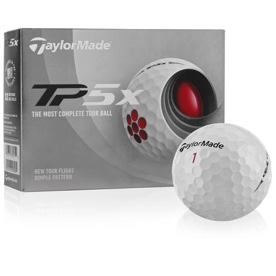Taylor Made TP5x Golf Balls - 2021 Model