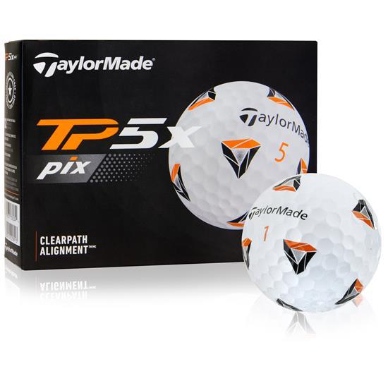 Taylor Made TP5x PIX 2.0 Golf Balls - 2021 Model