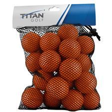 Titan Golf Foam Practice Orange Golf Ball - 24 Pack