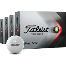 Titleist 2021 Pro V1x Personalized Golf Balls - Buy 3 Get 1 Free