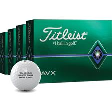 Titleist AVX Personalized Golf Balls - Buy 3 DZ Get 1 DZ Free