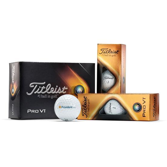Titleist Pro V1 Half Dozen Logo Golf Balls