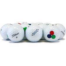 Titleist Logo Overruns Tour Speed Golf Balls