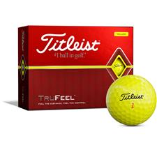 Titleist TruFeel Yellow Personalized Golf Balls