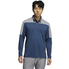 Adidas Men's 1/4 Zip UPF Lightweight Pullover