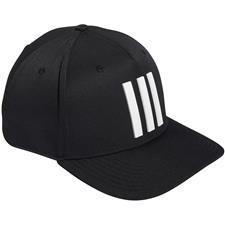Adidas Men's Tour 3 Stripe Personalized Hat - Black