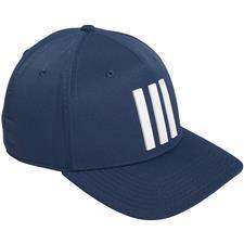 Adidas Men's Tour 3 Stripe Personalized Hat - Crew Navy