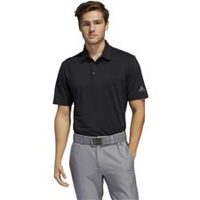 Adidas Black-Grey Four Ultimate365 Solid Polo