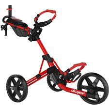 Clicgear Model 4.0 Push Cart - Red