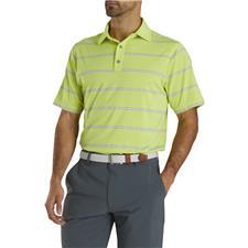 FootJoy Medium Lisle Open Stripe Polo