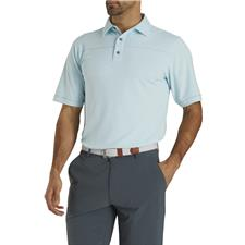 FootJoy Men's Pique Solid with Spine Stitch Polo