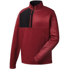 FootJoy Men's Pique Sport 1/4 Zip Mid-Layer Pullover