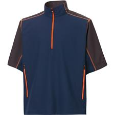 FootJoy Men's Short Sleeve Sport Windshirt Pullover