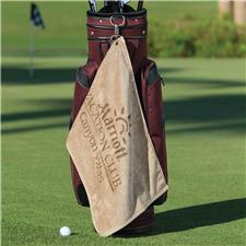 Logo Golf Custom Logo Platinum Golf Towel - Screen Printed