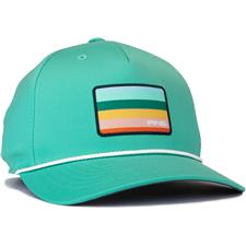 PING Men's Coastal Snapback Personalized Hat - Aqua