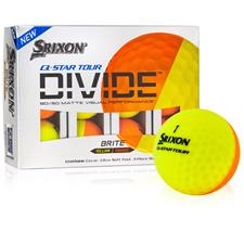 Srixon Q-Star Tour Divide Yellow/Orange Golf Balls