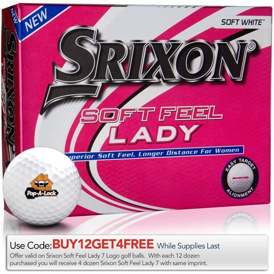 Srixon Soft Feel Lady 7 Golf Balls