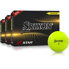 Srixon Z-Star 7 Yellow Golf Balls - Buy 2 DZ Get 1 Free