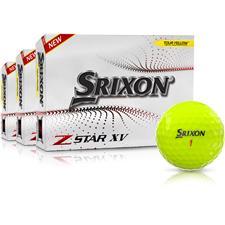 Srixon Z-Star XV 7 Yellow Golf Balls - Buy 2 Get 1 Free