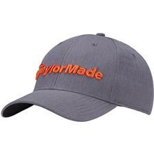 Taylor Made Men's Performance Seeker Personalized Hat - Gray-Orange