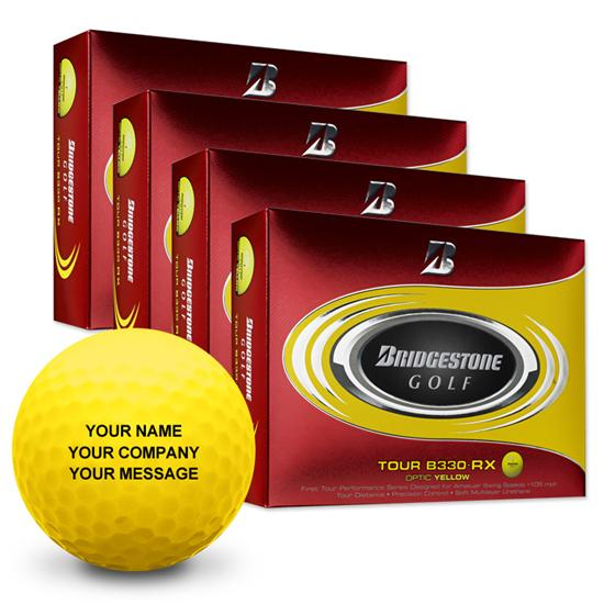Bridgestone Tour B330-RX Yellow Golf Balls - Buy 3 Get 1 Free