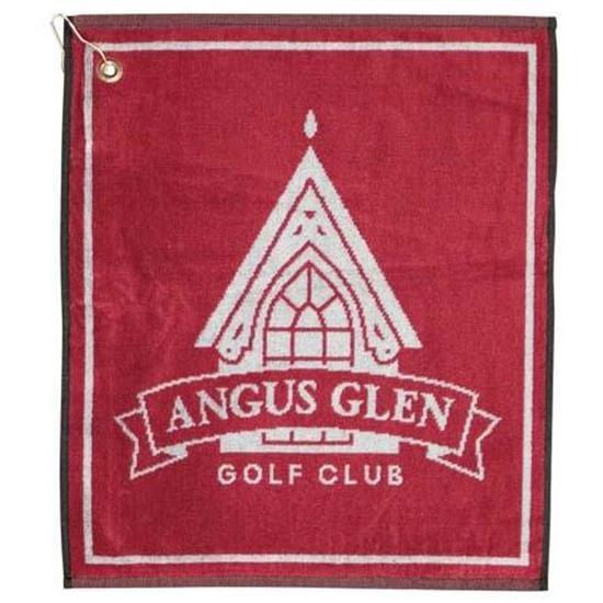 Logo Golf Woven Jacquard Golf Towel
