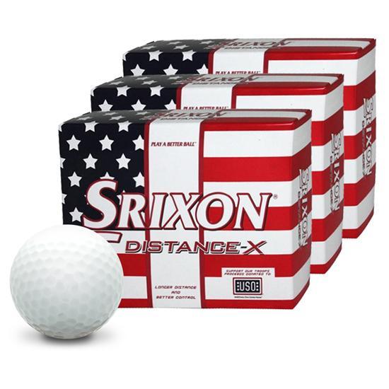 Srixon Distance-X Golf Balls - Buy 2 Get 1 Free