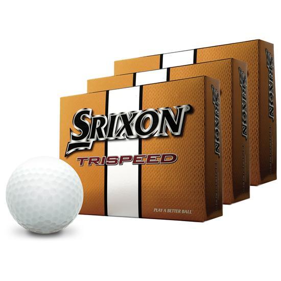 Srixon Trispeed Golf Balls - Buy 2 Get 1 Free