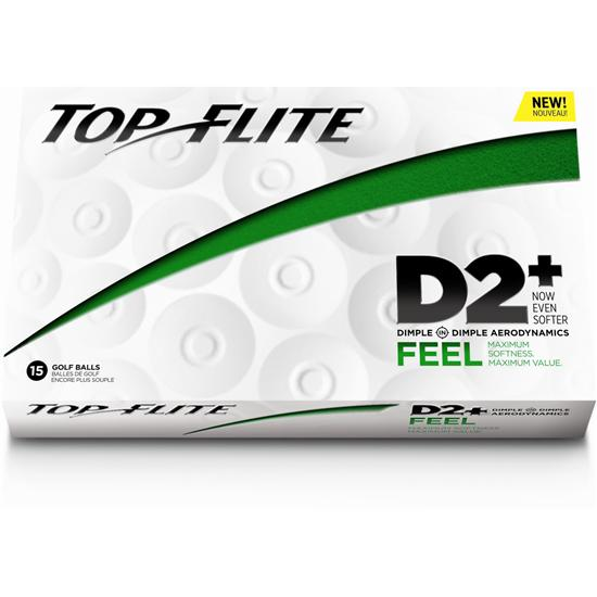 Top-Flite D2+ Feel Golf Balls