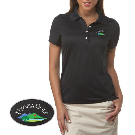 Callaway Golf Chev Utopia Golf Logo Polo for Women