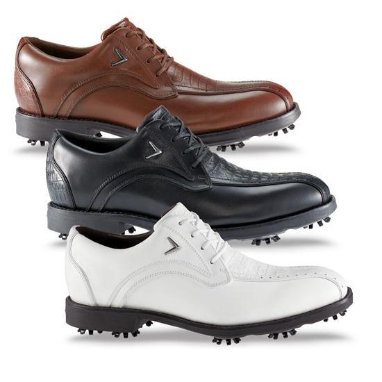 Callaway Golf Men's FT Chev Blucher Reptile Golf Shoes