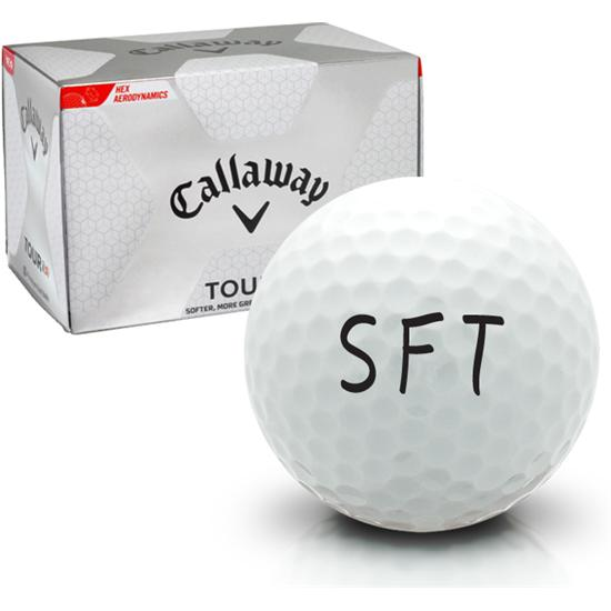 Callaway Golf Tour i(s) SFT Logo Golf Ball