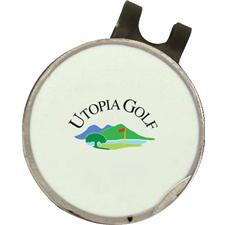 Classic Utopia Golf Logo Dimpled Hat Clip