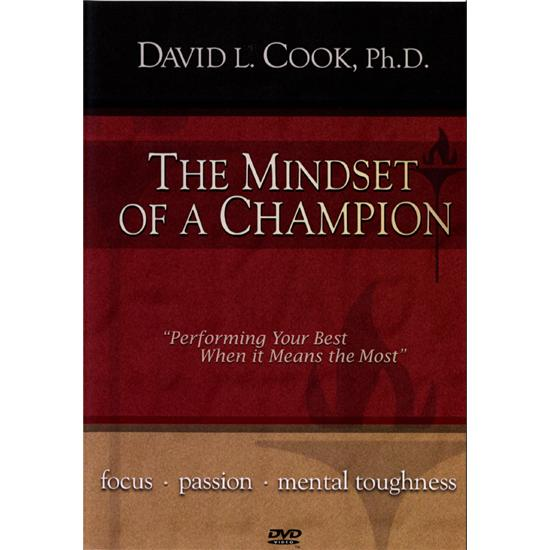 Dr David Cook Mindset of a Champion 3 Hour DVD Video Series