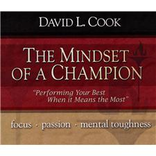 Dr David Cook The Mindset of a Champion 2 Hr Audio CD Series
