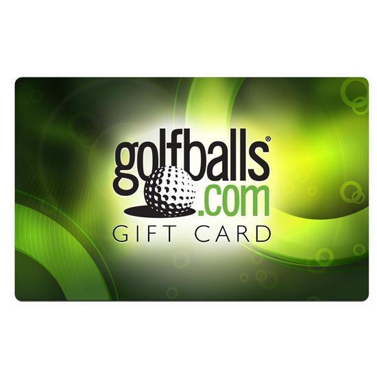 Golfballs.com $25.00 Gift Card