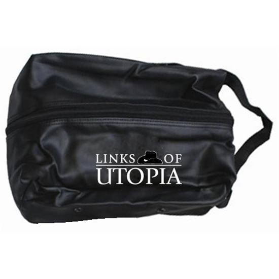 OnCourse Links of Utopia Logo Shoe Bag