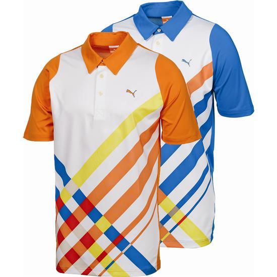 Puma Men's Golf Duo-Swing Graphic Polo