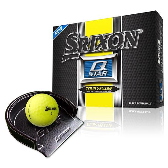 Srixon Q Star Golf Balls with Free Putting Cup