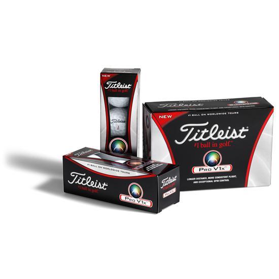 Titleist Pro V1x Half Dozen Logo Golf Balls
