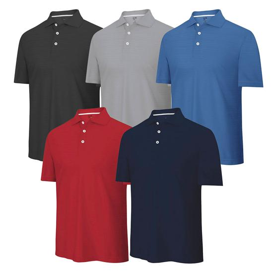 Adidas Men's Custom ClimaCool Textured Solid Polo