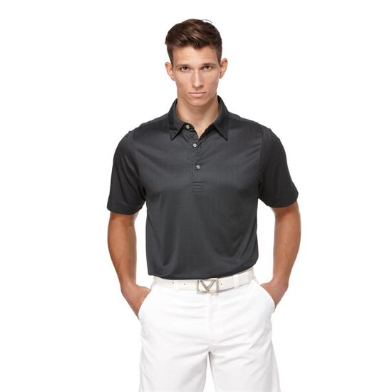Callaway Golf Men's Chev Jacquard Polo