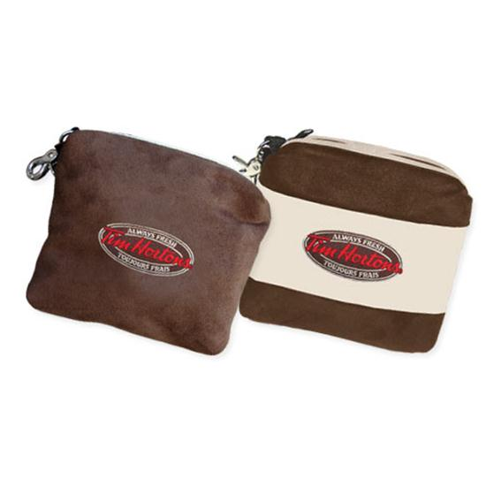 Logo Golf Microsuede Clubhouse Valuables Bag