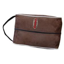 Logo Golf Clubhouse Shoe Bag - Will be contacted for color options - Microsuede