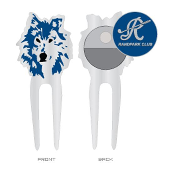 Logo Golf Custom Cast Divot Tool