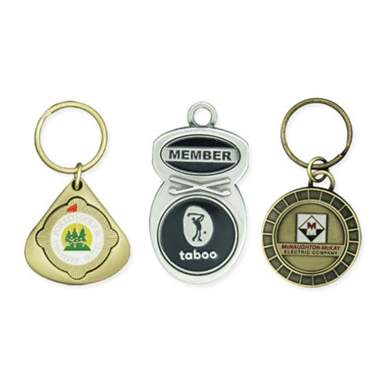 Logo Golf Key Fobs
