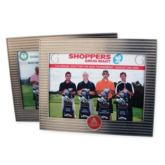 Logo Golf Metal Picture Frame