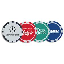 Logo Golf Custom Logo Poker Chip Ball Marker