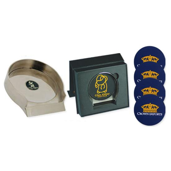 Logo Golf Putting Cup and Coasters