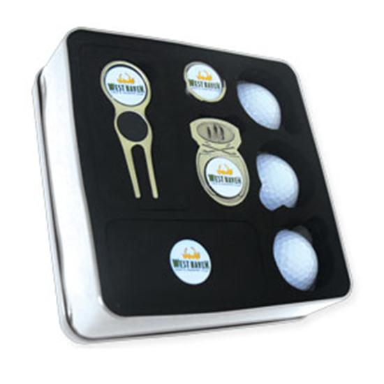 Logo Golf Quick X Gift Set- Style #1